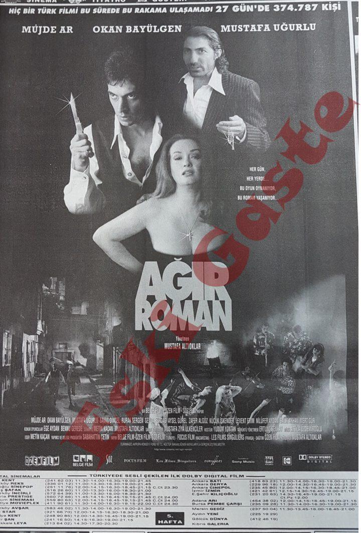 Ağır Roman Film Afişi