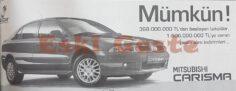 2001 Model Mitsubishi Carisma Reklamı