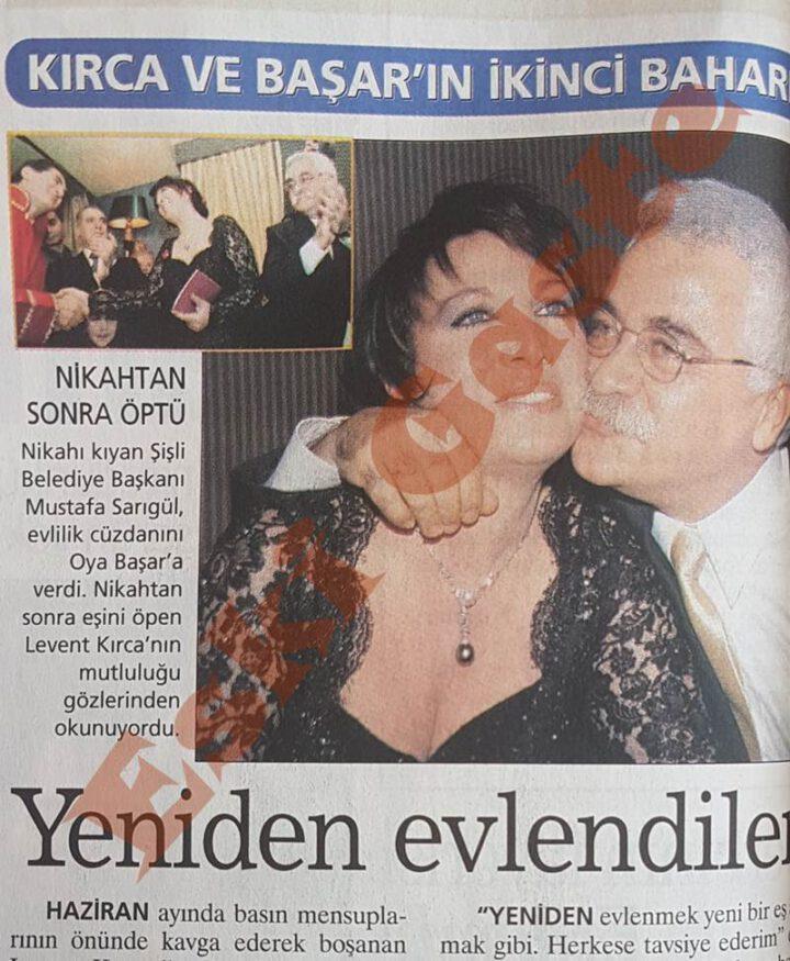 Levent Kırca Oya Başar çifti yeniden evlendi