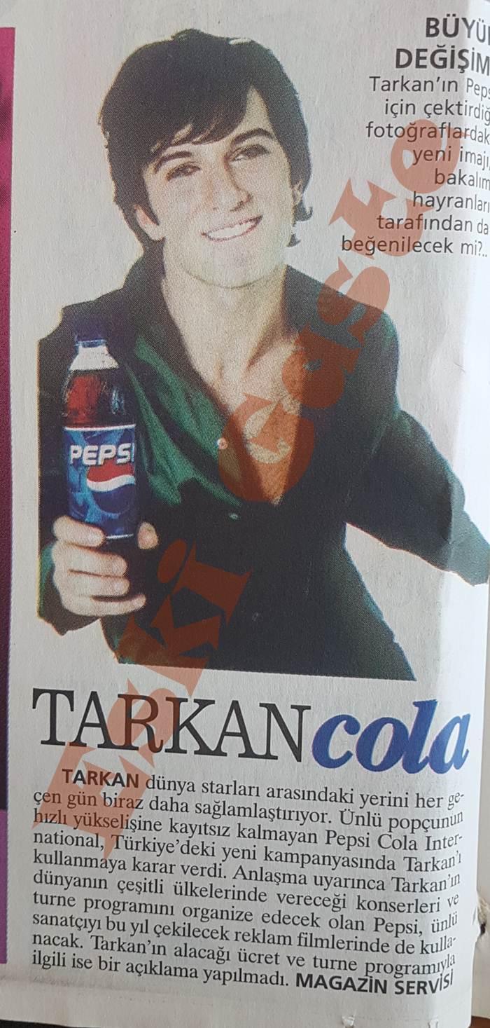 Tarkan Pepsi Reklamlarında