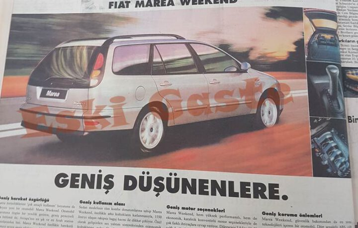 1997 Model Fiat Marea Weekend Reklamı