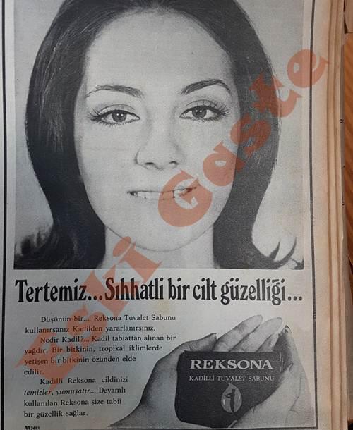 Reksona Kadilli Tuvalet Sabunu Reklamı