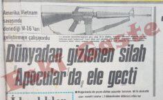 Dünyadan Gizlenen Silah M-16 Apocular'da Ele Geçti