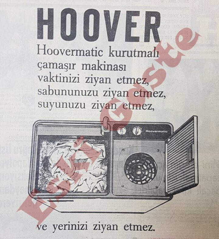 Hoover Çamaşır Makinesi Reklamı – 1967