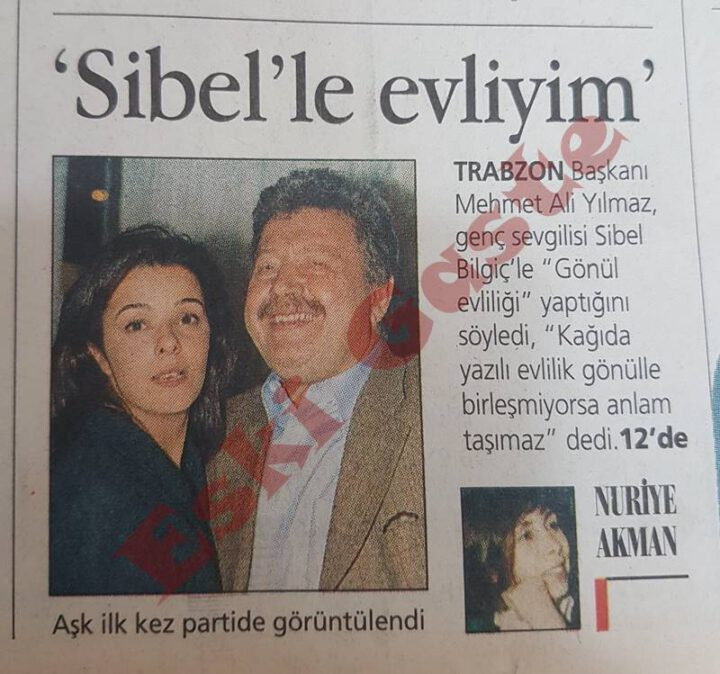 Mehmet Ali Yılmaz: Sibel Bilgiç ile Evliyim