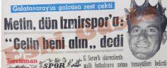 """Metin Oktay İzmirspor'a mı Gidiyor? """"Beşiktaş'a da Giderim"""""""