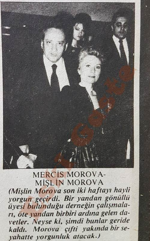 Mişlin Morova ve Bercis Morova