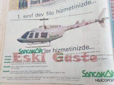 Sancak Air Reklamı