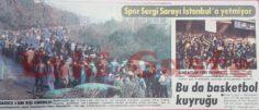 Spor Sergi Sarayı İstanbul'a Yetmiyor