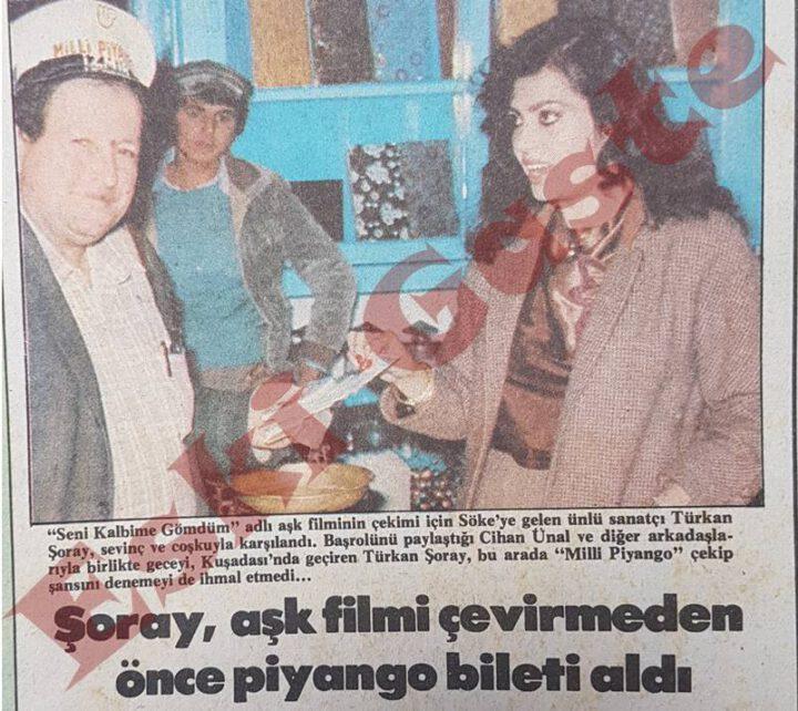 Türkan Şoray Aşk Filmi Çevirmeden Önce Piyango Bileti Aldı