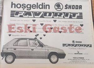 1989 Skoda Favorit