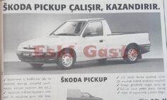 1997 Model Skoda Pickup Reklamı