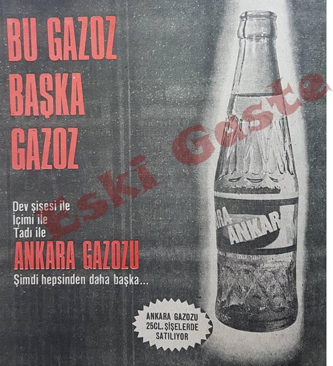 Ankara Gazozu Reklamı