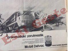 Mobil Delvac Reklamı – 1973
