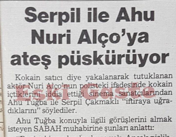 Nuri Alço, Ahu Tuğba ve Serpil Çakmaklı'nın Kokain Olayı