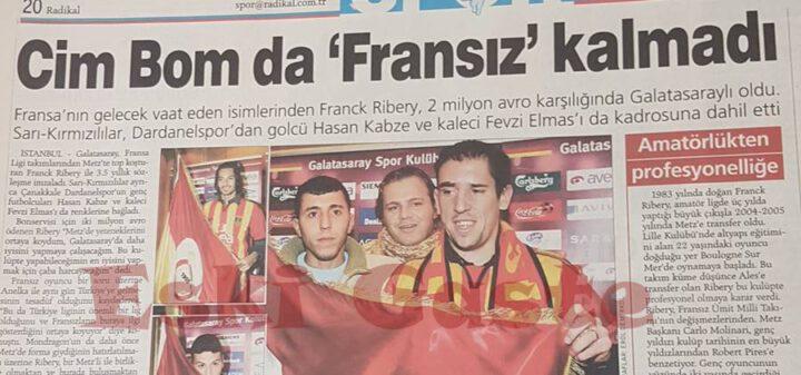 Franck Ribery Galatasaray'da
