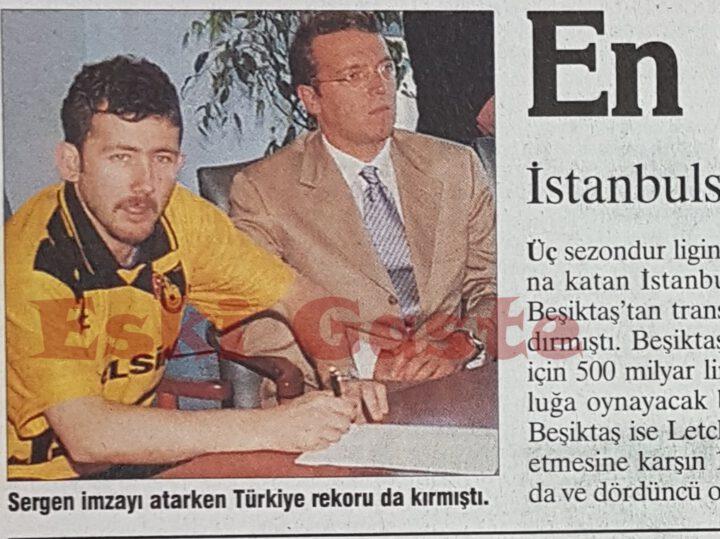 Sergen Yalçın İstanbulspor'da