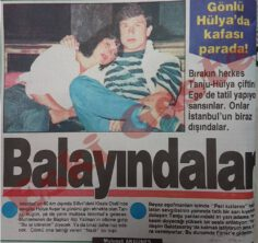 Tanju Çolak Hülya Avşar Çifti Silivri'de