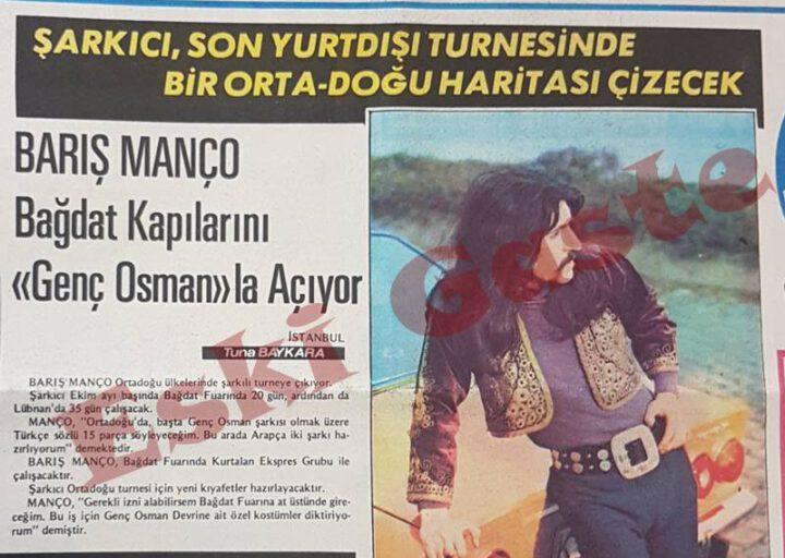 Barış Manço Bağdat Kapılarını Genç Osman ile Açıyor