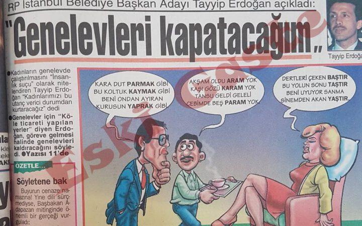 Recep Tayyip Erdoğan: Genelevleri Kapatacağım