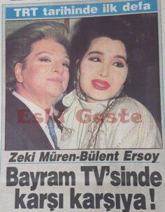 Zeki Müren-Bülent Ersoy TRT Bayram TV'sinde Karşı Karşıya