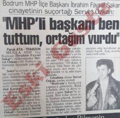 İbrahim Faysal Şakar Cinayeti