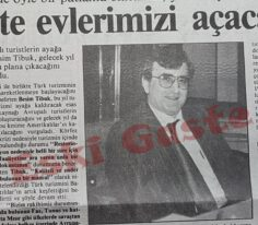 Net Holding Yönetim Kurulu Başkanı Besim Tibuk (1991)