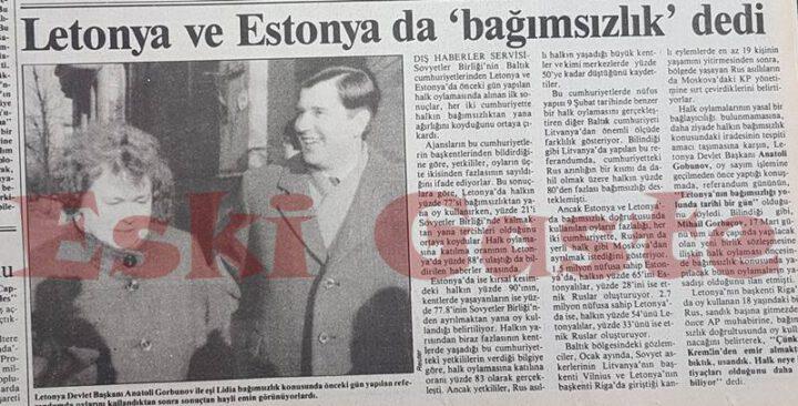 Letonya ve Estonya Bağımsızlık Referandumu