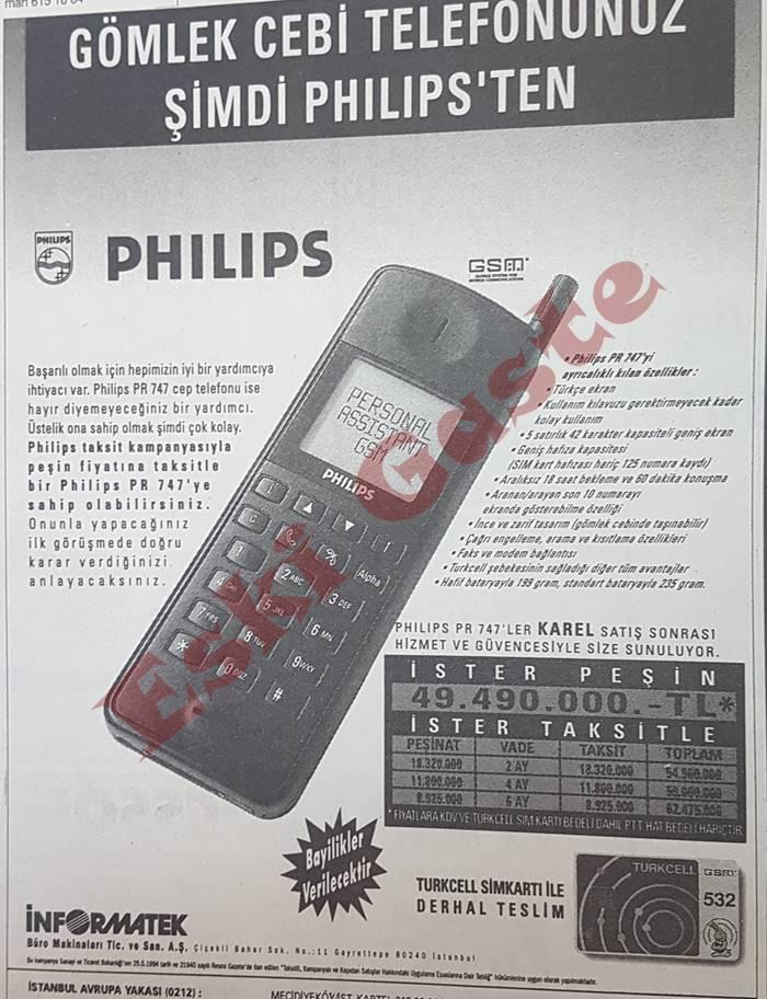 Philips PR 747 Reklamı