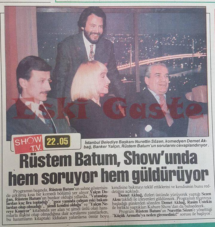 Rüstem Batum Show