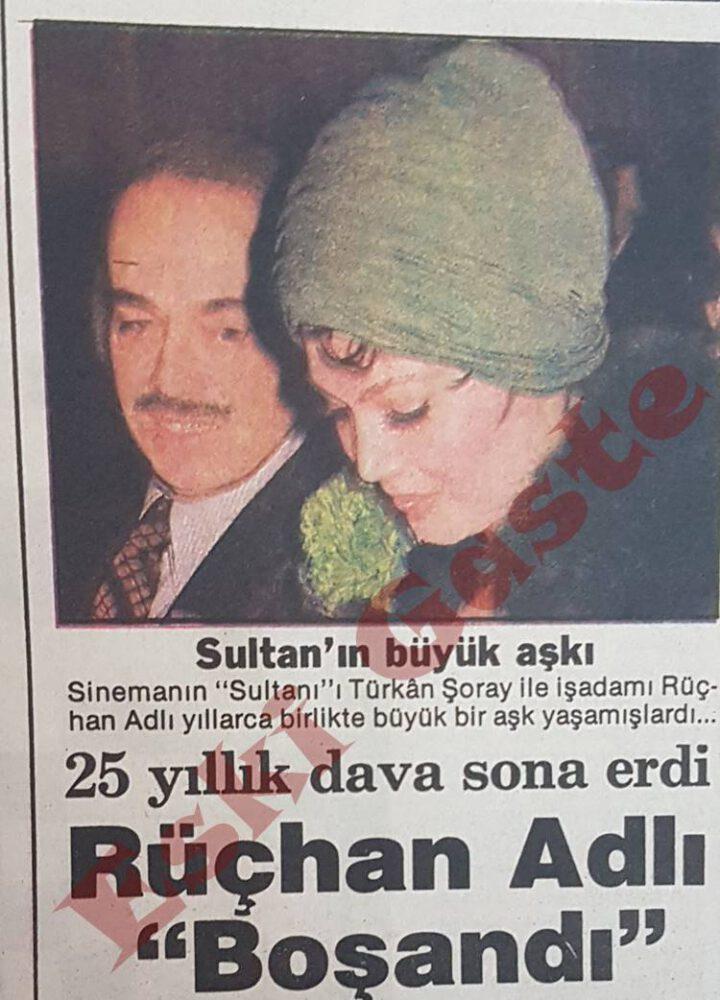 Türkan Şoray'ın Büyük Aşkı Rüçhan Adlı Boşandı